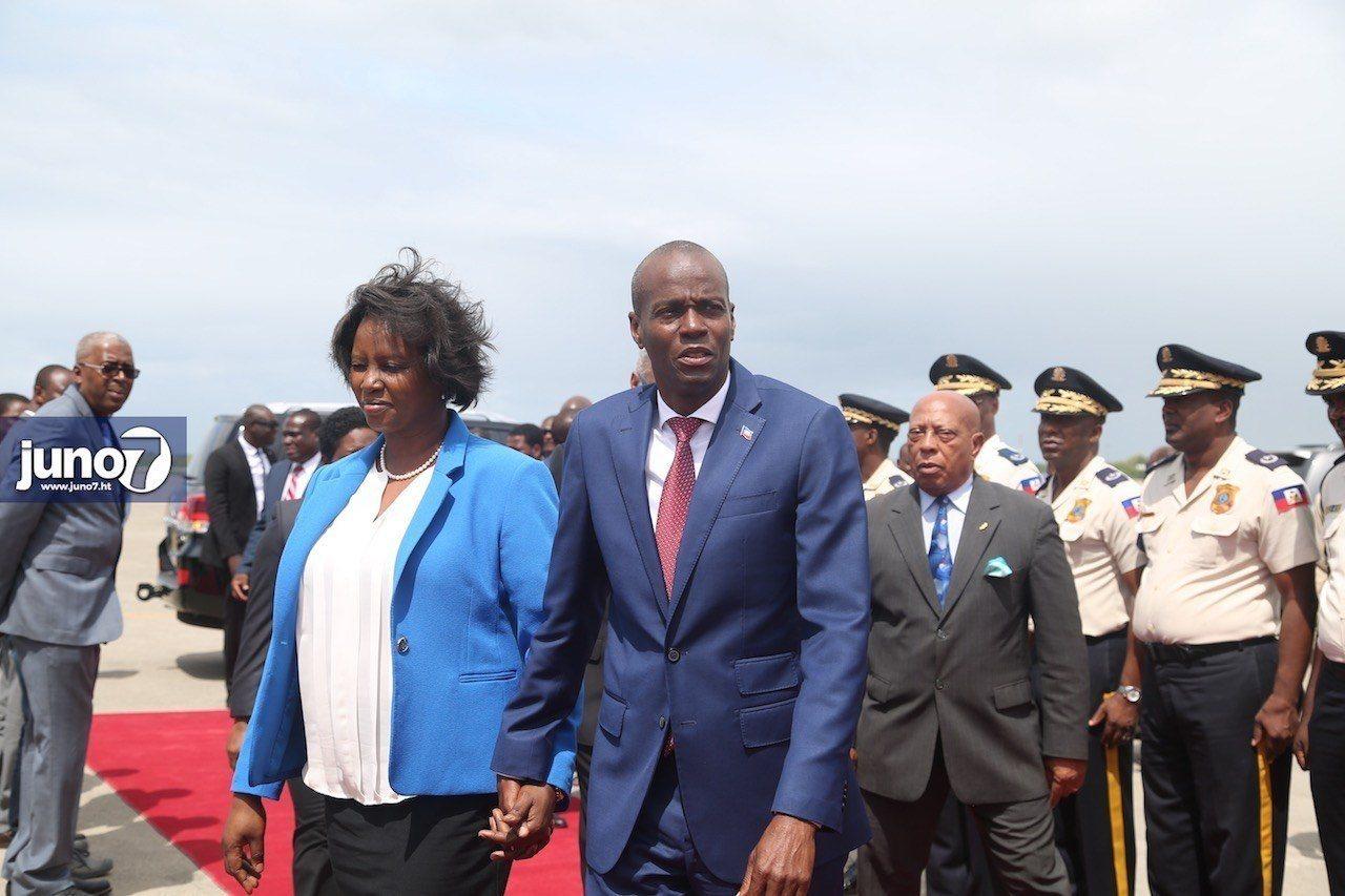 Le président Jovenel Moise est de retour au pays après avoir pris part  à la 72eme  assemblée générale des Nations-Unies à New-York 29