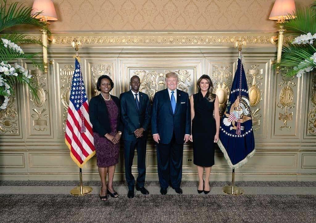 Président Trump Rencontre Président Moïse à l'AGNU 28