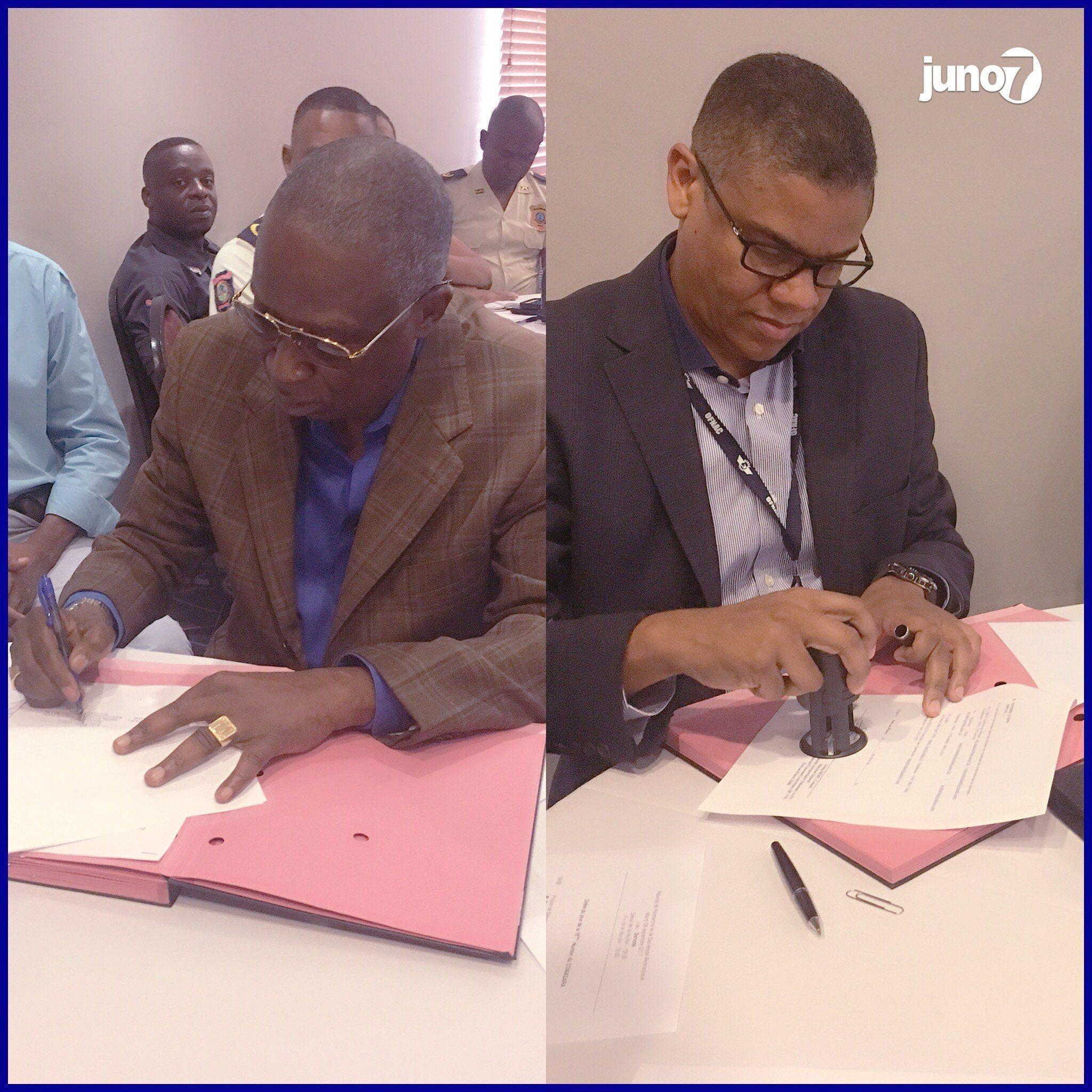 La ville des Gonaïves aura bientôt son aéroport confirment Irving Méhu et Olivier Jean 27