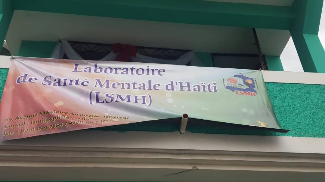 Un premier laboratoire de santé mentale inauguré en Haïti 26