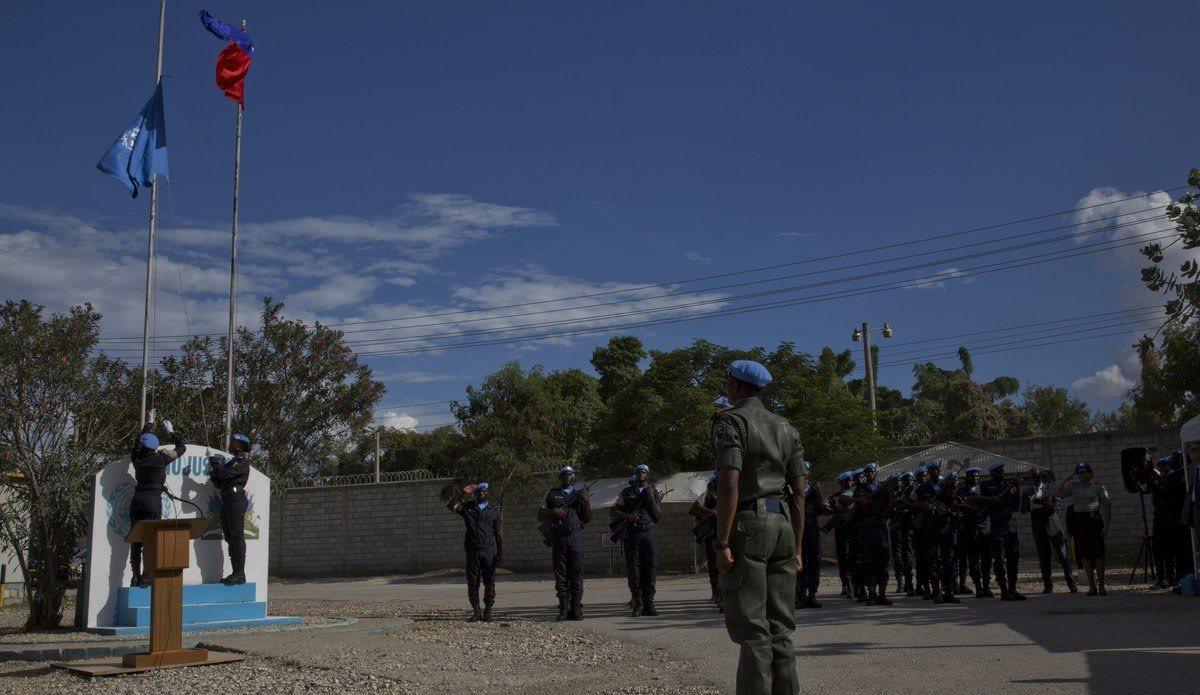 La MINUJUSTH a commencé son mandat en Haïti 26