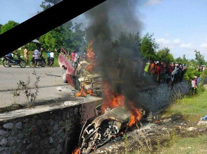 Haïti : Sept morts dans un grave accident dans le sud. 32