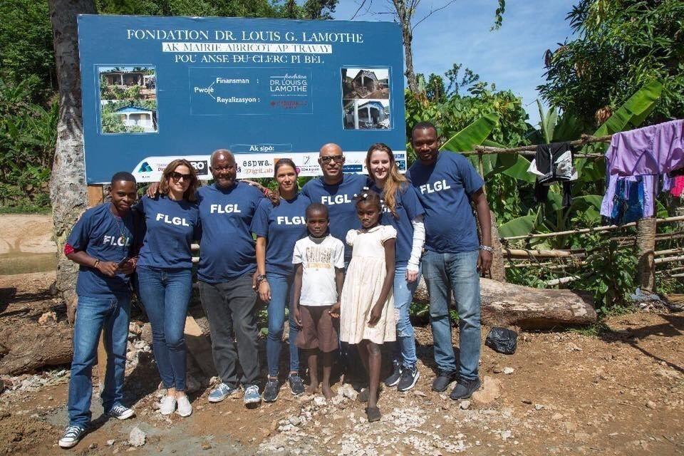 La Fondation Dr Louis G. Lamothe inaugure la première phase du projet de réhabilitation des maisons détruites à Anse du Clerc 26