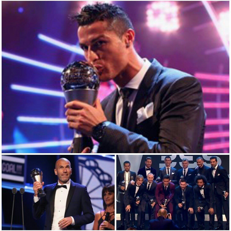 FOOT-THE BEST FIFA 2017: CRISTIANO ET ZIDANE COURONNÉS 26