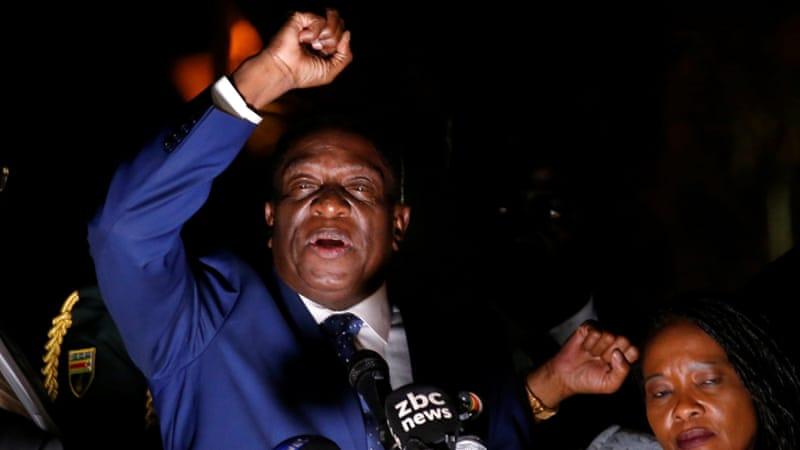 Zimbabwe : Emmerson Mnangagwa prend le pouvoir et appelle au calme 30