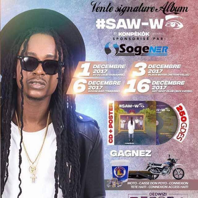 Ded Kra-Z signe ''Saw-wè'' 29