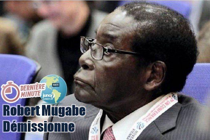 Zimbabwe : Le président Robert Mugabe jette l'éponge 26