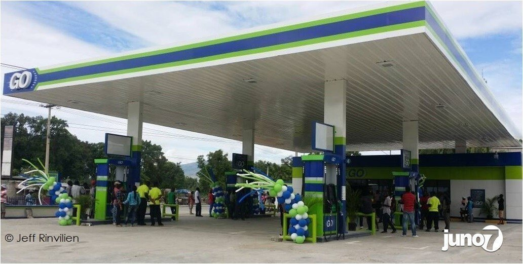 Haïti: « GO » La KIMAZOU ouvre une nouvelle station à Cazeau. 27