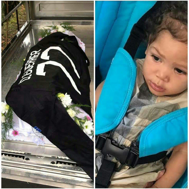 Foot-deuil : La petite fille de Donald Guerrier est enterrée 27