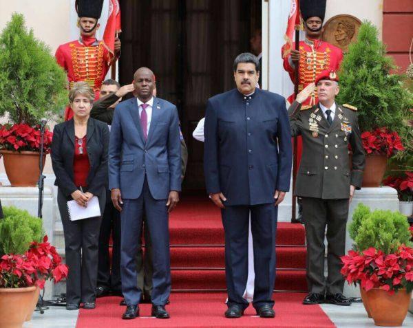Rencontre entre Jovenel Moïse et le président Vénézuelien Nicolas Maduro 27