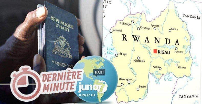 Diplomatie : Les Haïtiens pourrontrentrer au Rwanda sans visa 31