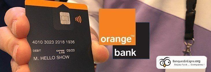 Maintenant la compagnie de téléphonie Orange, c'est aussi une banque. 28