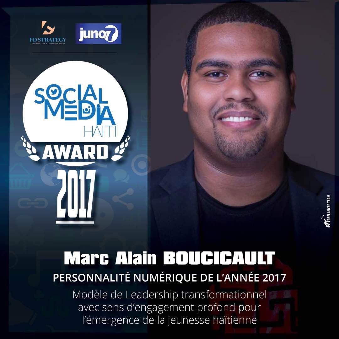 Marc Alain BOUCICAULT  Personnalité Numérique de l'année 2017 29