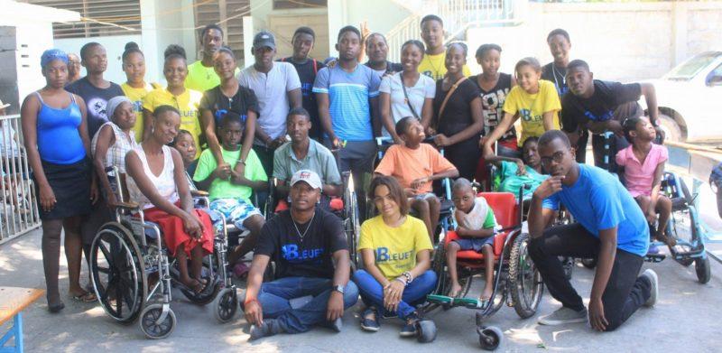 Haïti : l'association BLEUET se penche vers les enfants en déficience physique 32