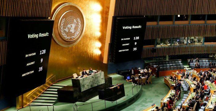 [FLASH] l'ONU adopte une résolution sur le statut de Jérusalem 27