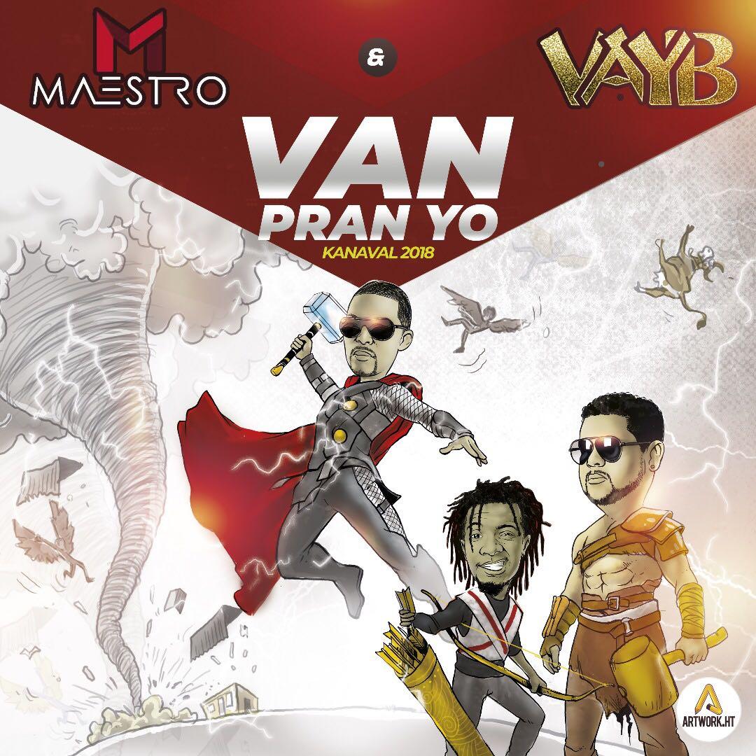 Maestro Vayb: Une cohabitation carnavalesque qui sonne bien 31