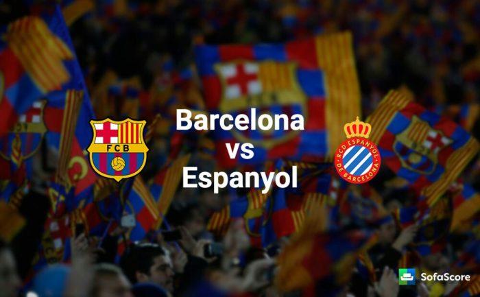 Après 29 matches, le FC Barcelone s'est fait piégé par l'Espanyol 30