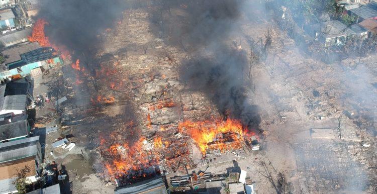 Bahamas : Des maisons d'Haïtiens détruites par un violent incendie à Abaco 29