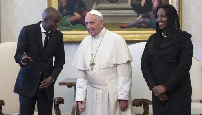 Le Pape François a reçu le président Jovenel Moïse au Vatican 29