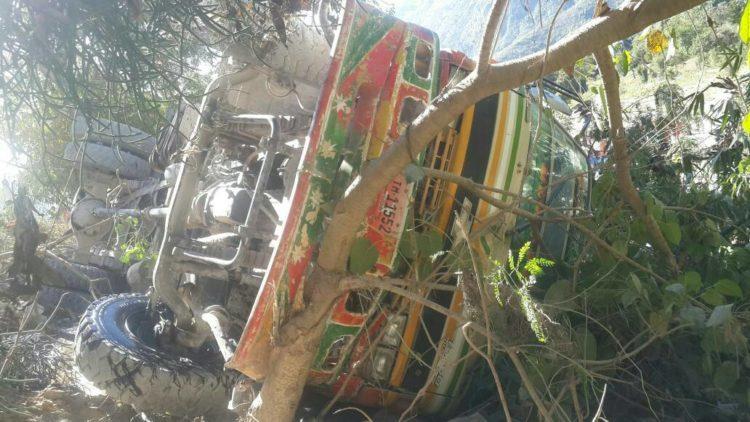 Haïti : 30 victimes dans un accident de la route à Fonds Verrettes 26
