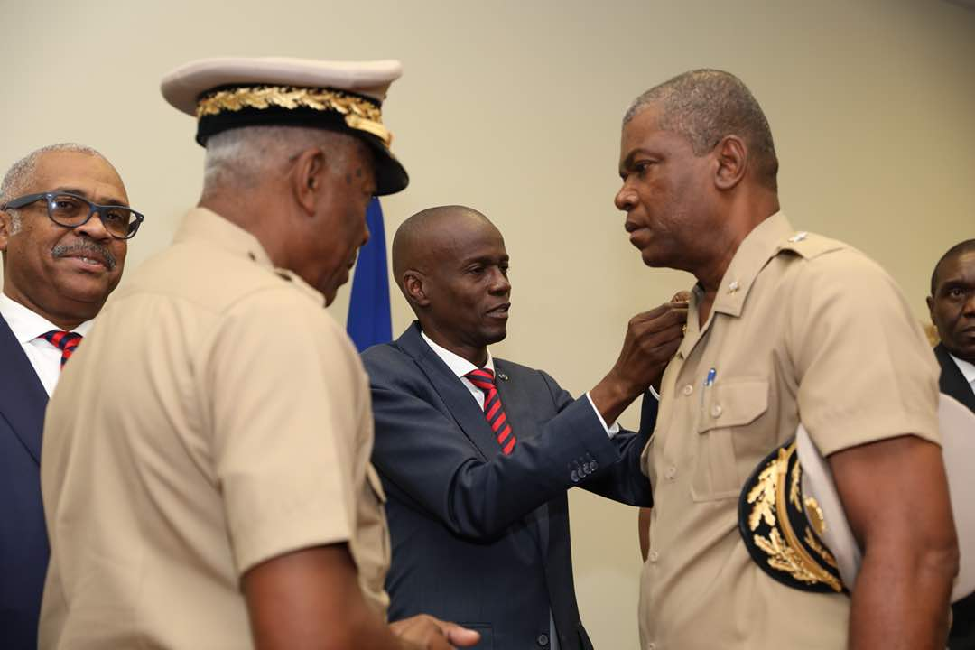 Installation du haut état-major des Forces Armées d'Haïti 29