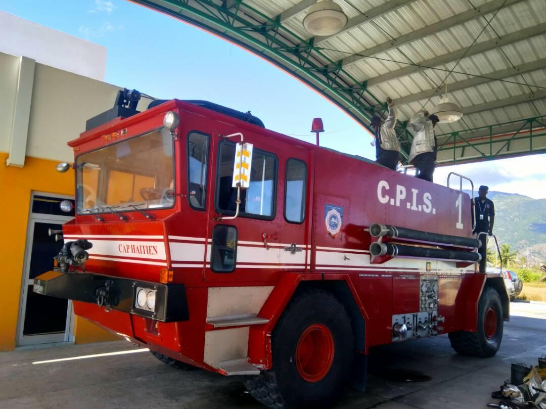 Le Corps de Protection Incendie et Sauvetage de l'Aéroport du Cap Haïtien est en bonne santé 29