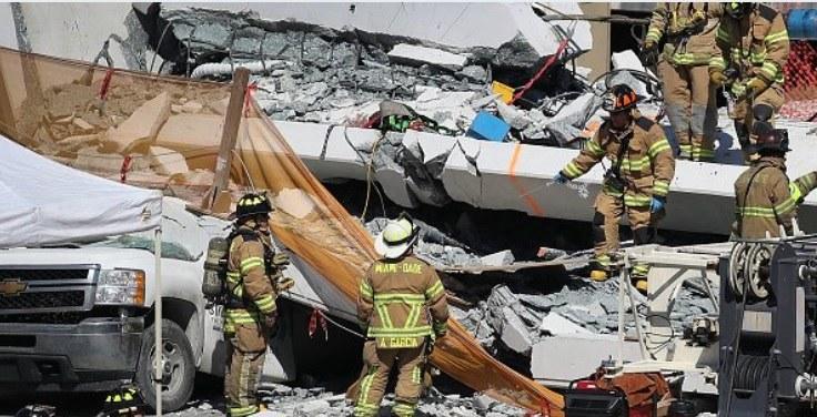 Miami : l'effondrement d'un pont flambant neuf fait au moins six morts 27