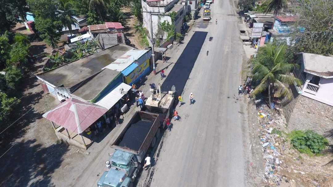 Tronçon Camp Coq/Vaudreuil: Les travaux d'asphaltage se poursuivent sans faille 29
