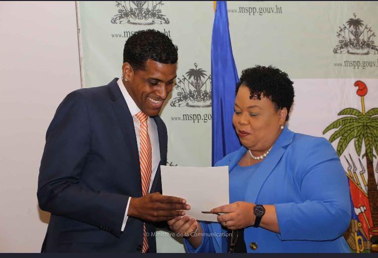 Mikaben, nouvel ambassadeur de bonne volonté pour la santé en haïti 27