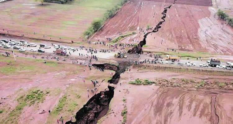Une immense faille au Kenya sépare l'Afrique et installe la peur 29