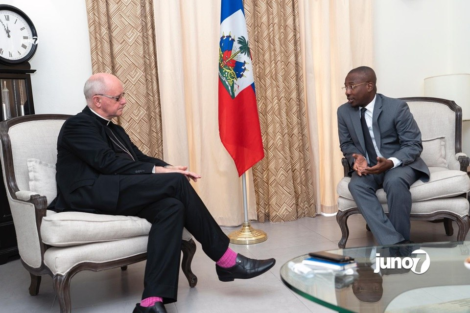 Covid-19 Haïti: le ministre Claude Joseph a reçu les leaders religieux ce vendredi