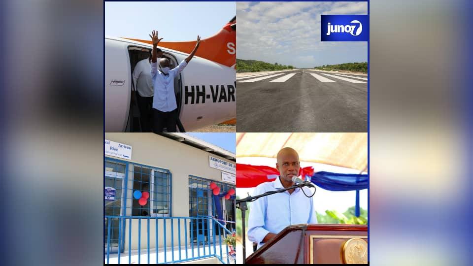 Inauguration d'un nouvel aérodrome à Jérémie
