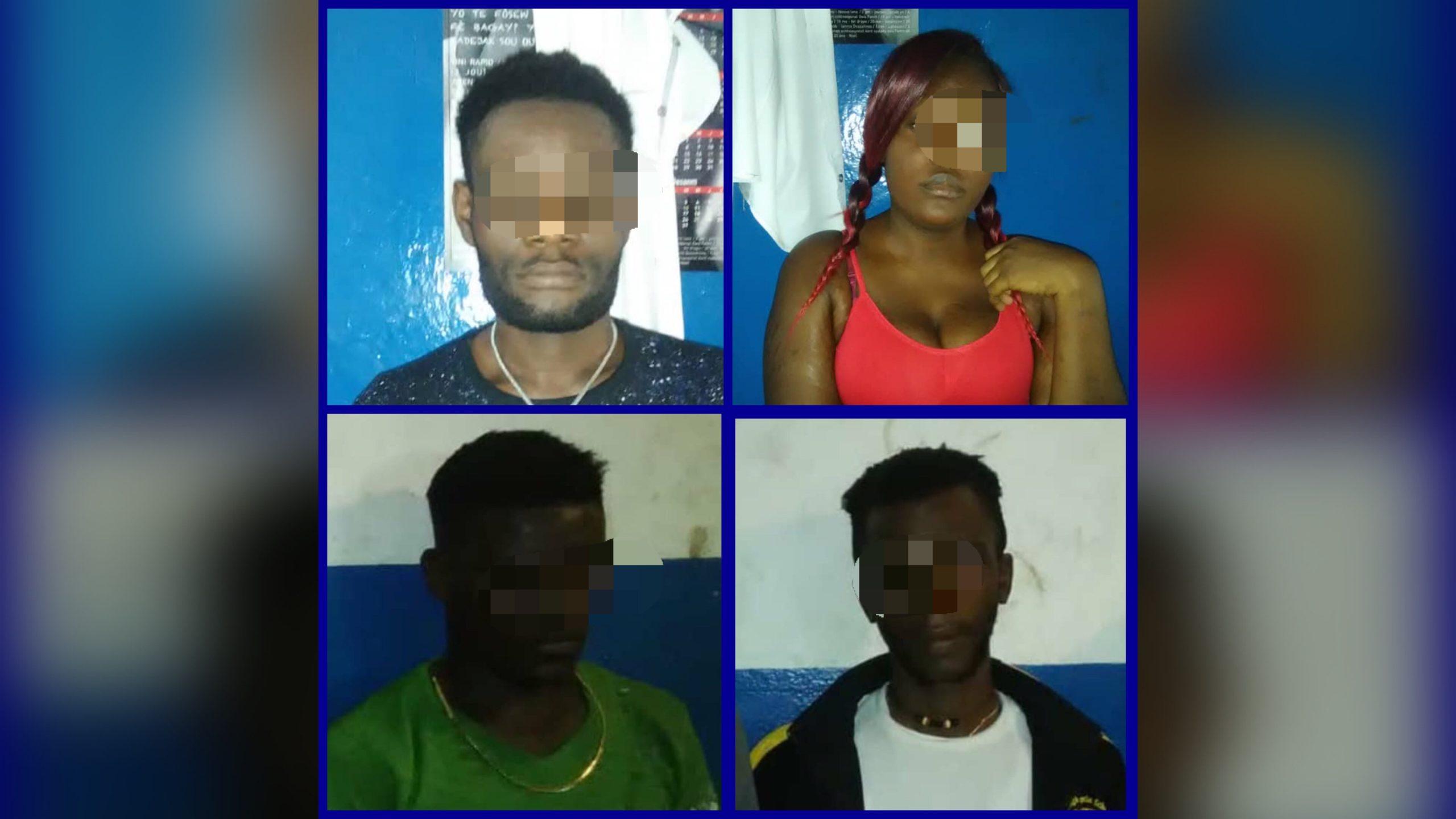 4 membres actifs du gang de Village de Dieu arrêtés au Champ de mars