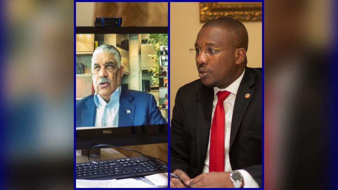 Covid-19: les chanceliers haïtien et dominicain pour une gestion commune