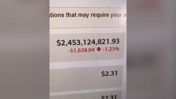 Un américain milliardaire pendant seulement 15 minutes