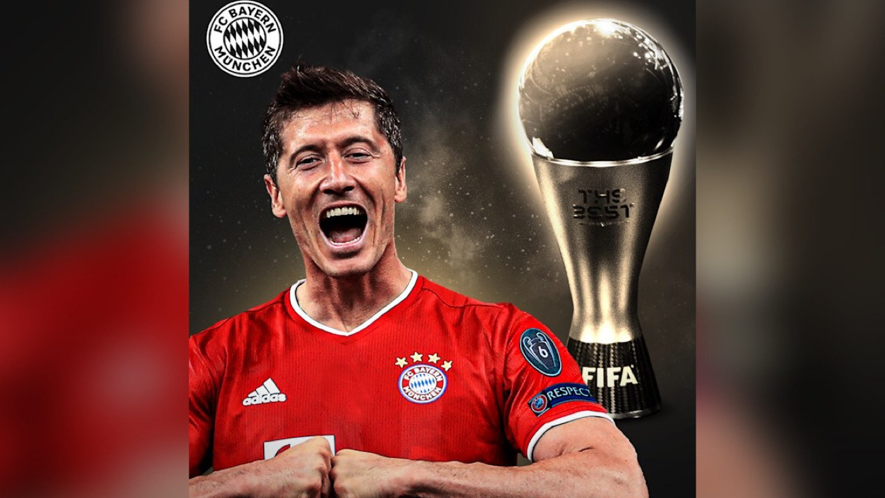 Messi détrôné du trophée de Best par Lewandowski