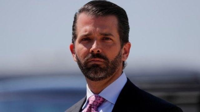 Le fils ainé de Donald Trump testé positif au COVID-19