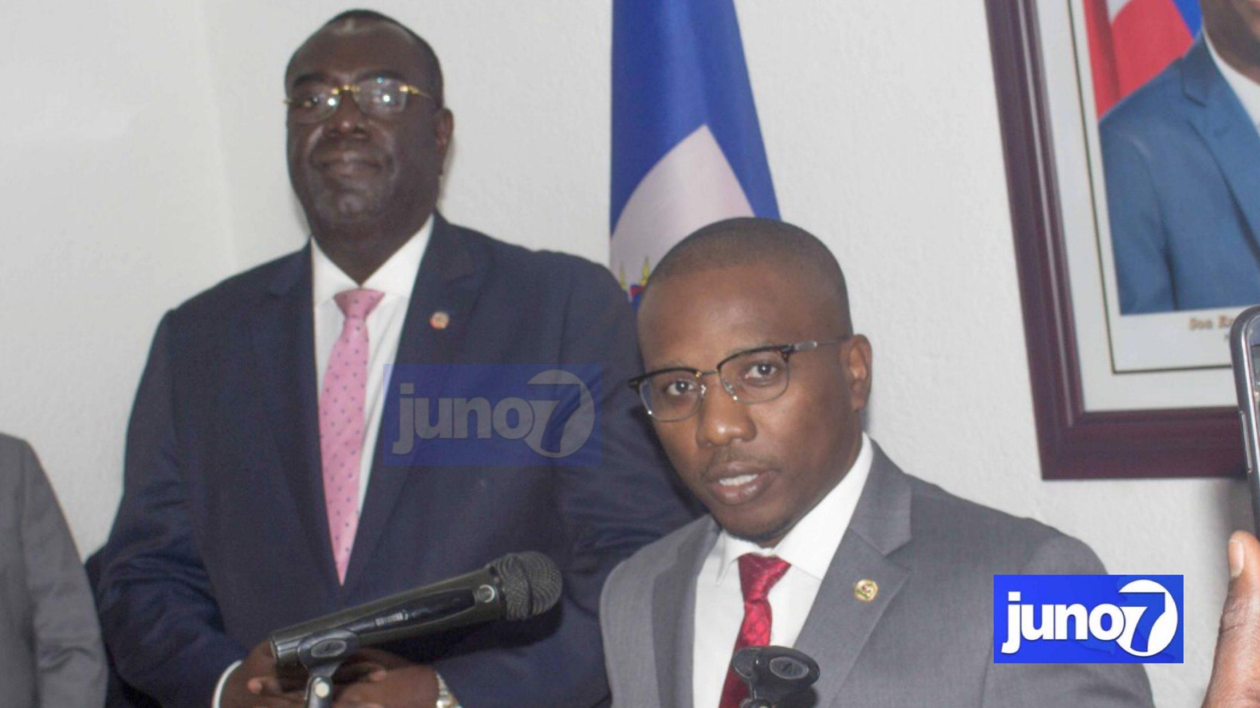 Haïti Gouvernement: le chancelier Claude Joseph, installé dans ses fonctions