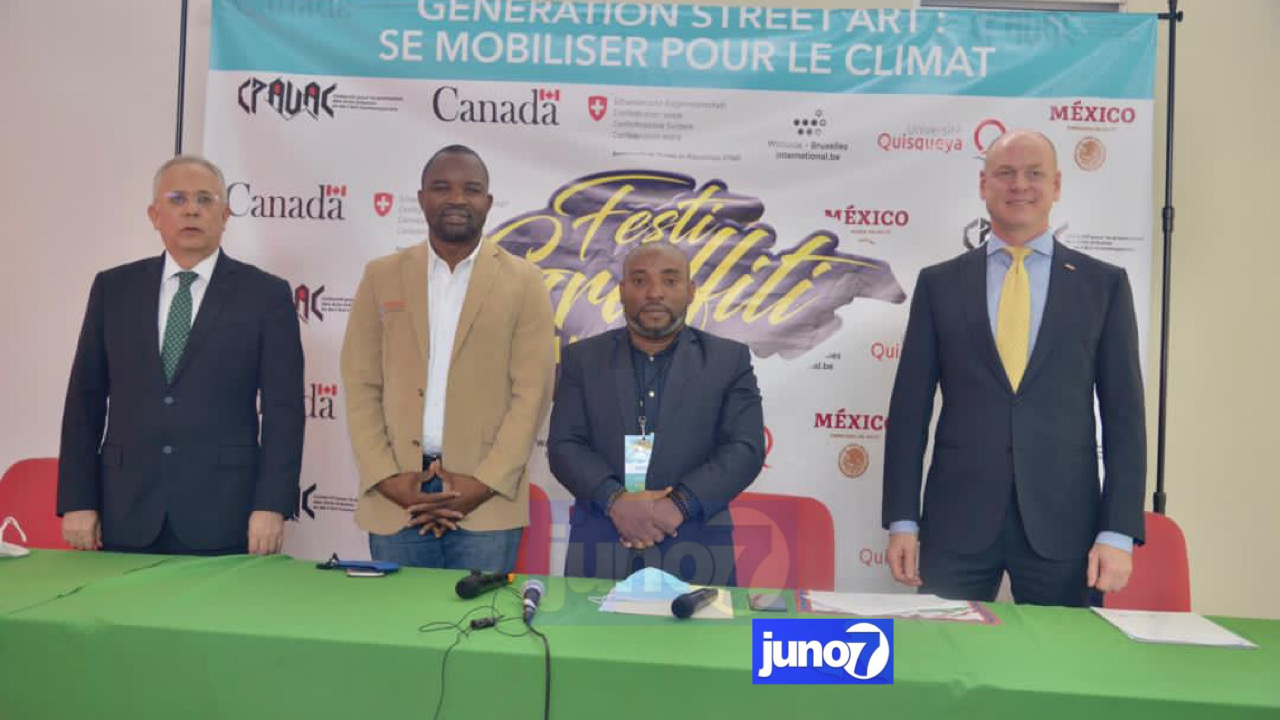 Lancement du festival graffiti dédié à la lutte contre les changements climatiques en Haïti