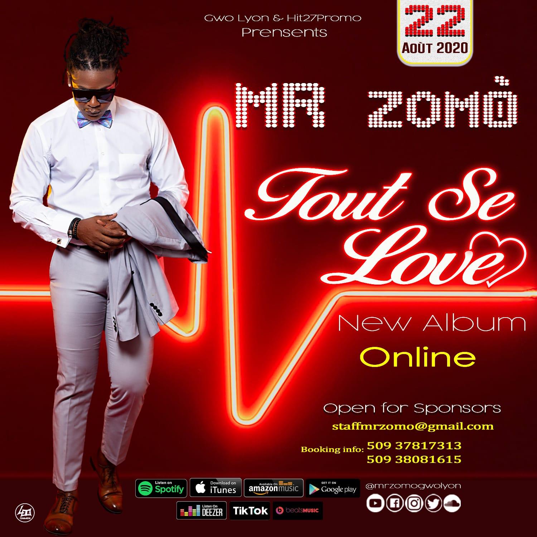 Mr Zomò dévoile la Tracklist de son troisième album