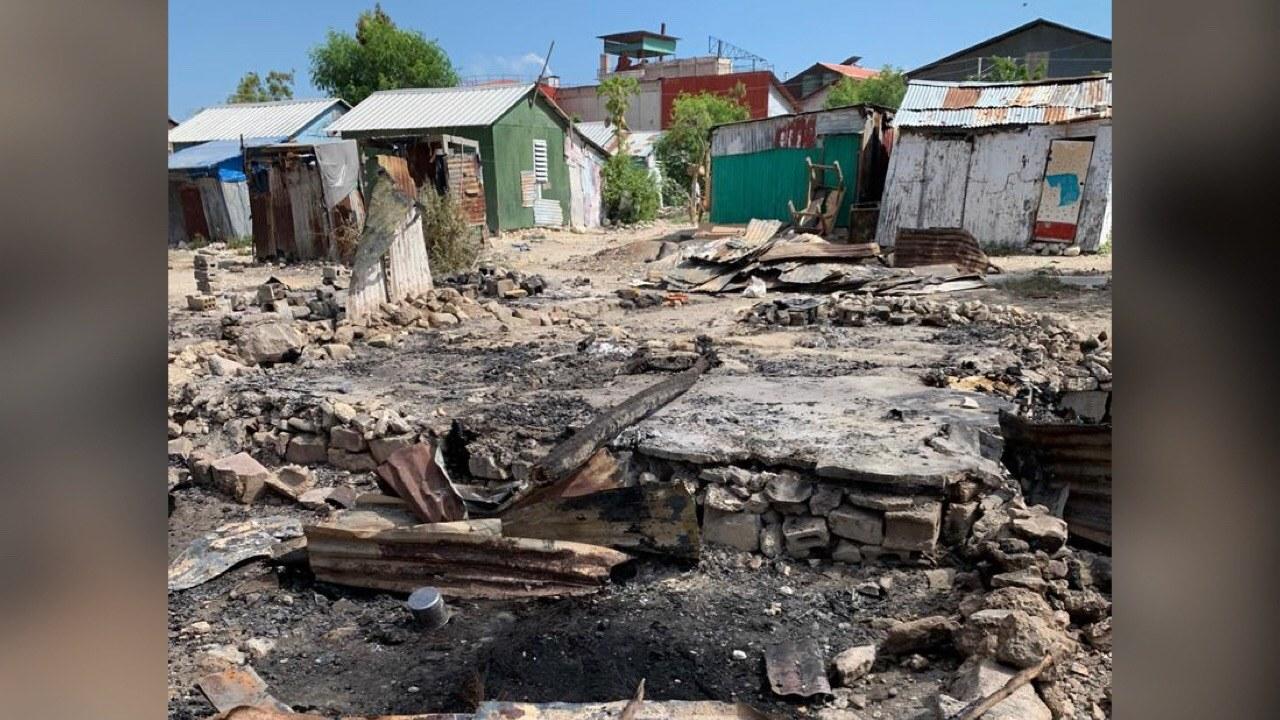 1 décès et une dizaine de maisons incendiées dans un camp à Delmas 2