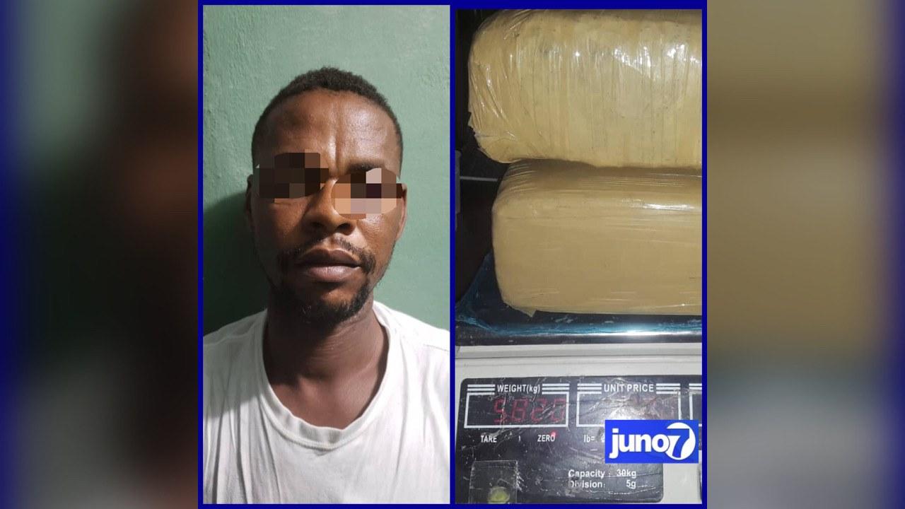 Un individu arrêté a Bois Neuf en possession de 5,82kg de stupéfiants