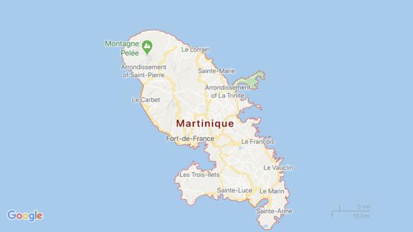 Une vaste poche de brume de sable devrait polluer l'air de la Martinique ce dimanche