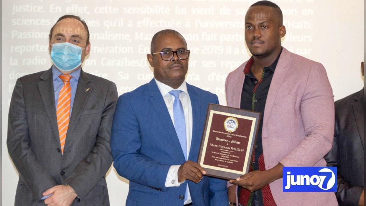Le ministre Ronald D'Meza lance le mois de la jeunesse