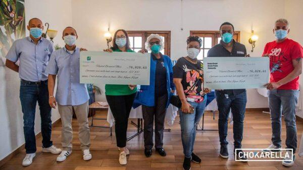 Covid-19: l'Hôpital Bernard Mevs reçoit un don de 153 000 dollars