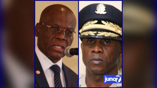 Le DG de la PNH publiquement critiqué par le PM Joseph Jouthe