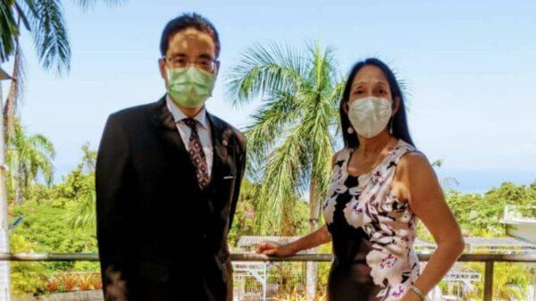 Haïti : Rencontre entre les ambassadeurs Michele Sison et Wenn-Jiann Ku