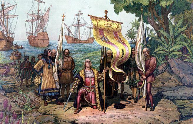 5 Décembre 1492 : découverte d'Haïti par Christophe Colomb