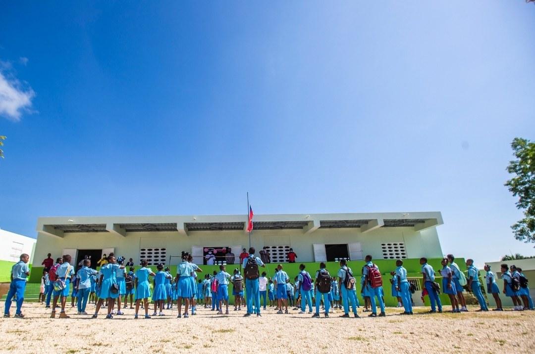 Inauguration de trois nouvelles écoles par la Fondation Digicel