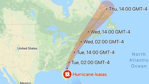 Isaias va frapper les États-Unis et le Brésil en pleine pandémie de COVID 19